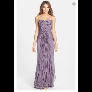 Adrianna Papell | Ruffled Chiffon Dress